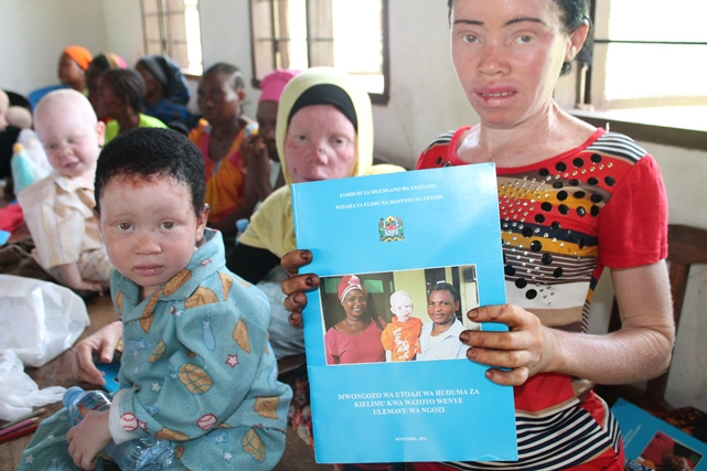 Educational handbook for albinos