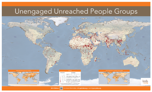 What is unreached 1520 unreached for 20 40 window missions